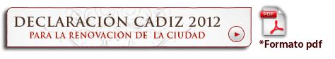 Declaración Cádiz 2012